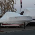 Упаковка яхт на зиму