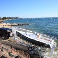 Парусная яхта Beneteau First 20 - транспортировка