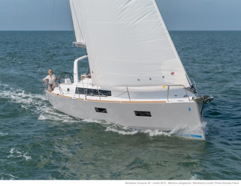 Парусная яхта Beneteau Oceanis 38