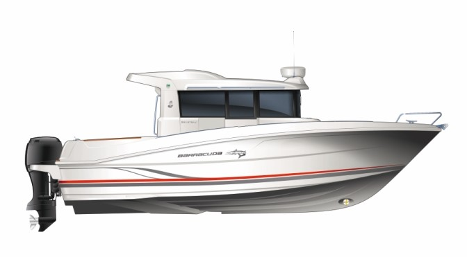 Катер для рыбалки Beneteau Barracuda 9