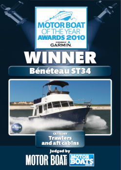 Beneteau Swift Trawler 34 - яхта года в своем классе!