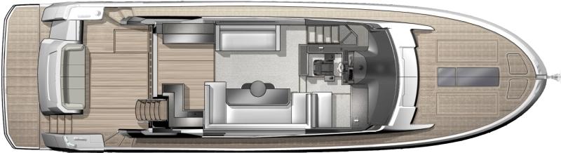 Моторная яхта Beneteau Montecarlo 6