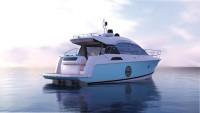 Графическое изображение яхты Montecarlo 4s