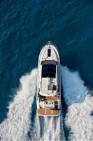 Яхта Montecarlo 5s вид сверху