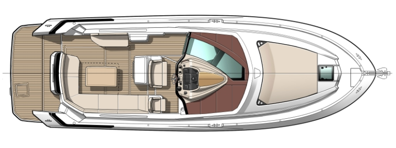 План палубы Gran Turismo 40